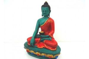 Coloured Resin Buddha