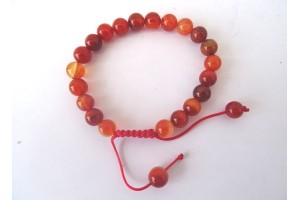 Carnelian Power Bead Bracelet