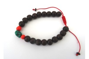 Red Sandalwood Power Bead Bracelet