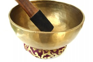 25 cm Hammered Singing Bowl