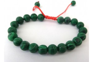 Malachite Power Bead Bracelet