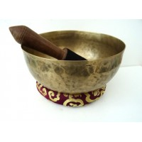 22 cm Old Hammered Singing Bowl