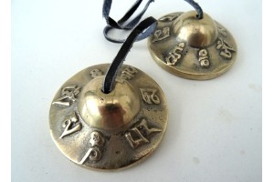 Tingsha with Mantra