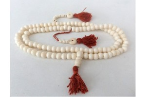Large White bone mala