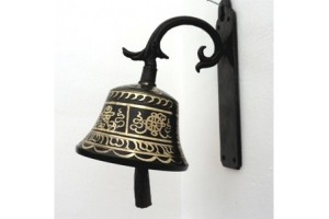 Wall mounted bell
