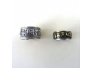 Silver Mantra Rings