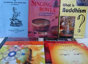 BUDDHIST BOOKS AND CD's