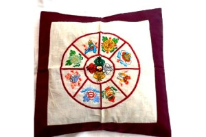 Double Vajra Cushion Covers