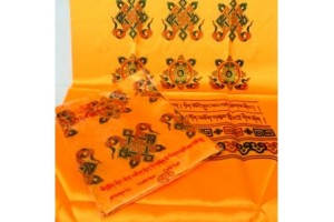 Offering Scarves (Kata) - Orange
