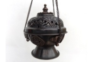 Hanging Copper Incense Burner